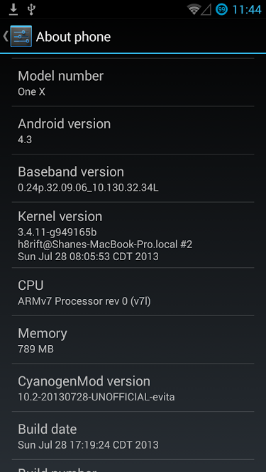 Update HTC One X to Android 4.3 via CyanogenMod 10.2 ROM [GUIDE]