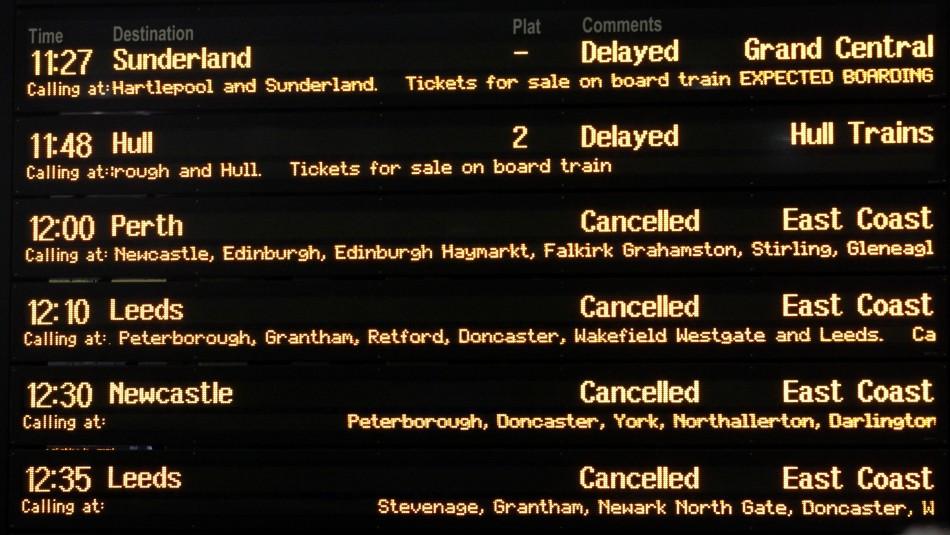 UK rail network
