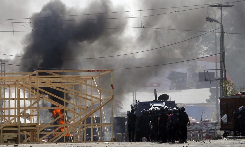 Muslim Brotherhood police cairo