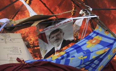 Pro-Morsi poster