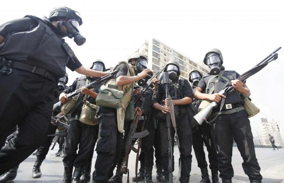 Egypts Riot police