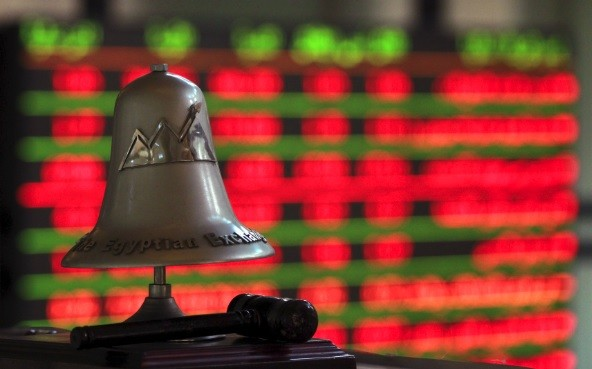 The Egyptian Exchange bell is seen at the stock exchange. Siddiqi sees financial markets deteriorating (Photo: Reuters)