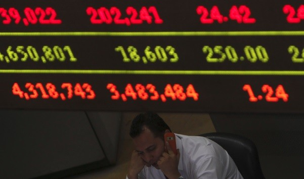 Egypt's stock exchange. Siddiqi has revised down his end of year estimates (Photo: Reuters)