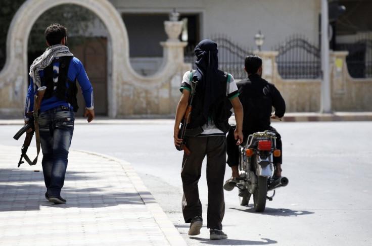 ar-Raqqah rebels syria