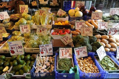 Fresh vegetables 10.6