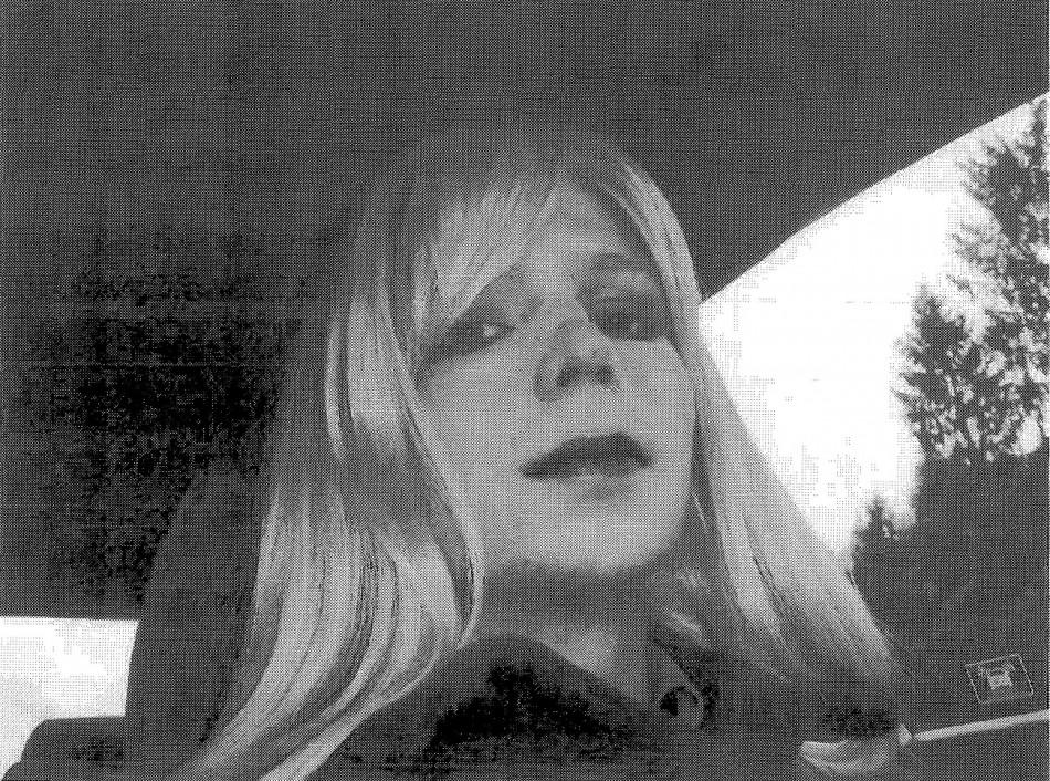 Bradley Manning woman wig