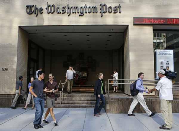 Washington Post Website Hacked by Syrian Electronic Army