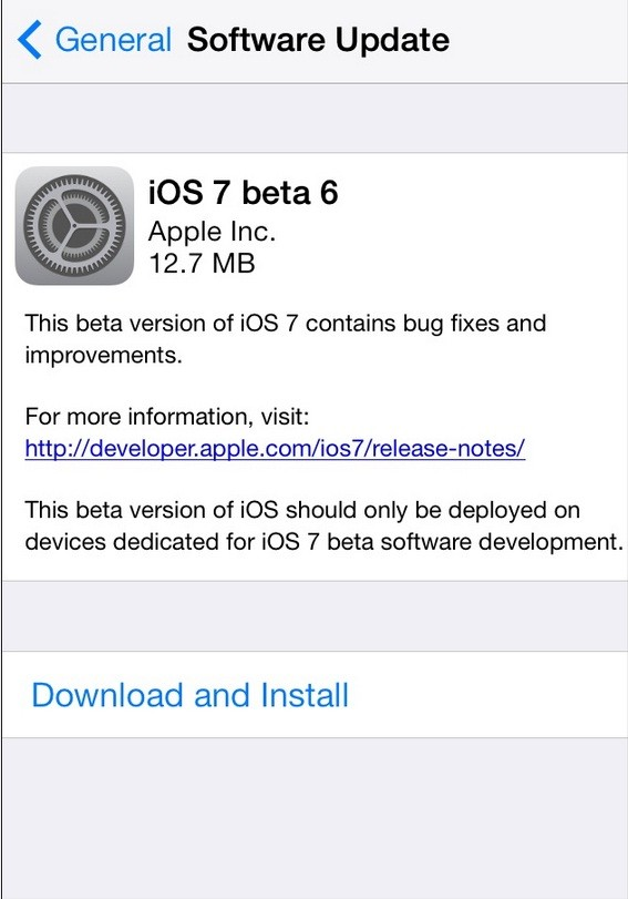 iOS 7 Beta 6: Install Without Registered UDID or Developer Account
