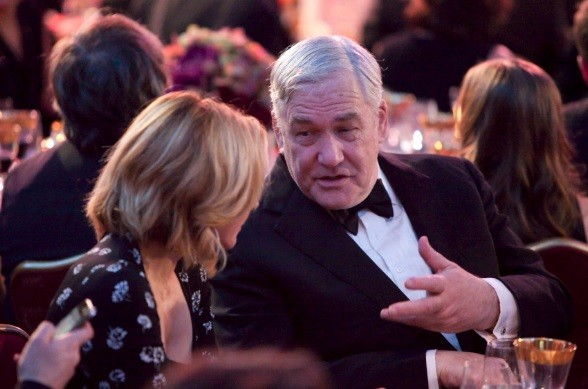 Living the high life still? Conrad Black former media baron Conrad Black speaks with actress Kim Cattrall (L) at the Ritz-Carlton in Toronto October 30, 2012 (Photo: Reuters)