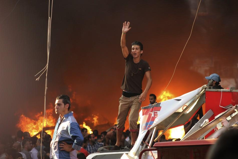 Blast rocks Hezbollah stronghold in Lebanon