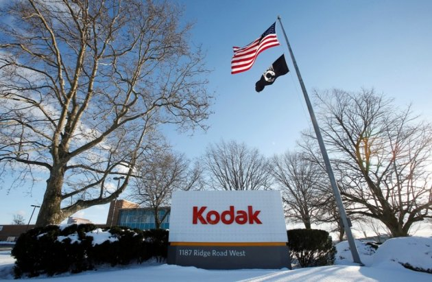 A view of part of the Kodak factory in Rochester, New York