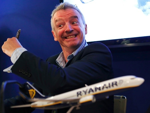Ryanair Chief Executive Michael O'Leary. Europe's largest budget airline fires John Goss for questioning the airline's safety on Channel 4 documentary Dispatches (Photo: Reuters)