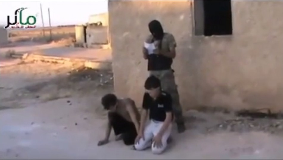 Syrian rebels execute youths