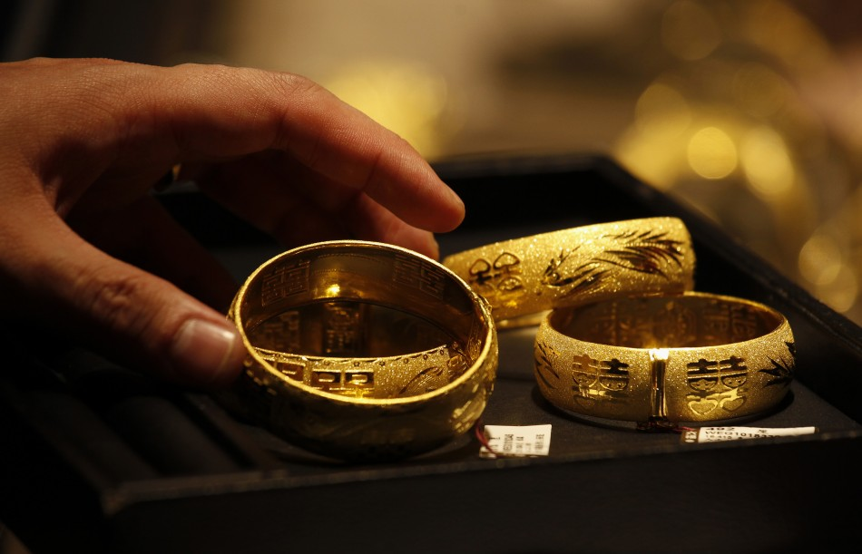 Gold Ends At Near Two-Month High