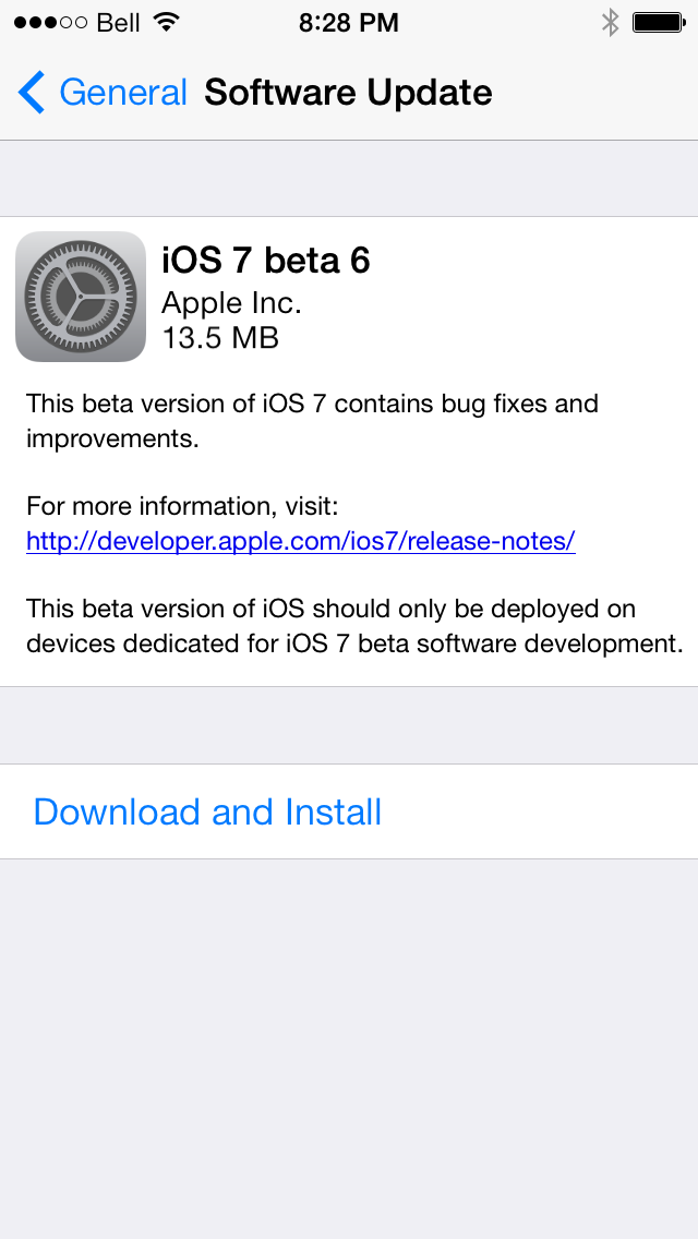 iOS 7 Beta 6: Install Legally via Developer Account or Registered UDID [TUTORIAL]