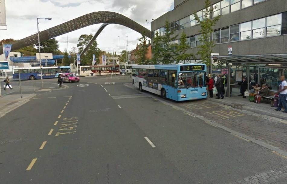 Trinity Street, Coventry city centre