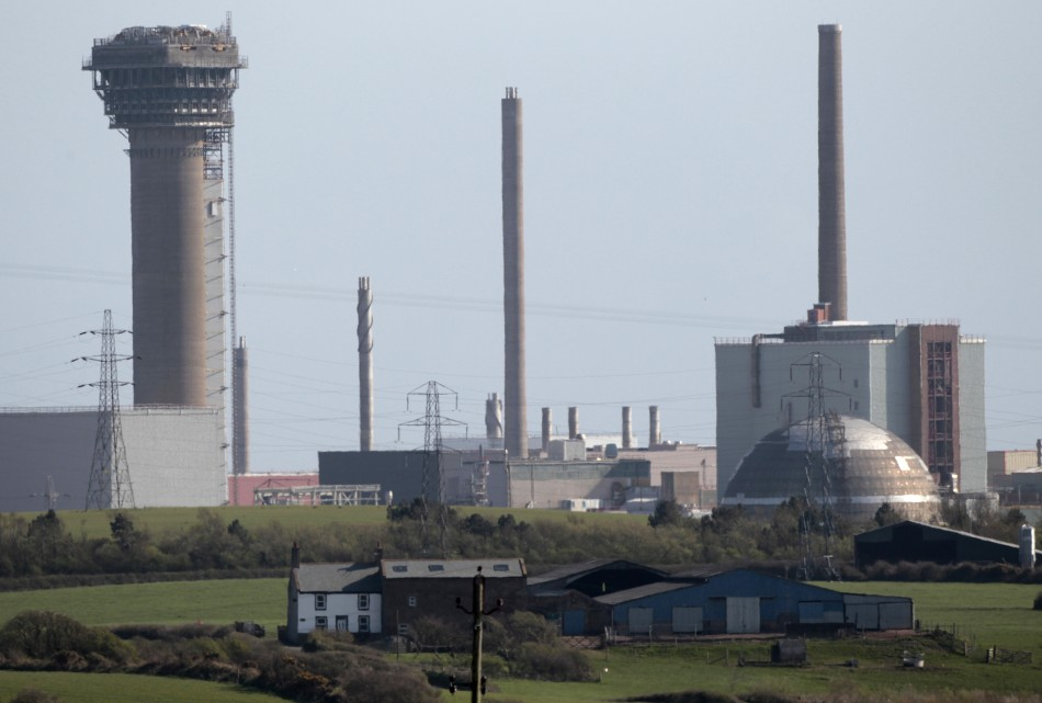 Sellafield nuclear reprocessing site.