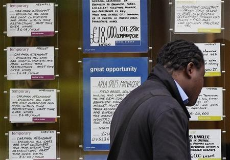 UK unemployment rates are now tied to the Bank of England governor Mark Carney's forward guidance. Rates will drop when jobless rates drop to below 7% (Photo: Reuters)