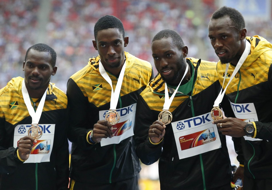 Jamaica relay team