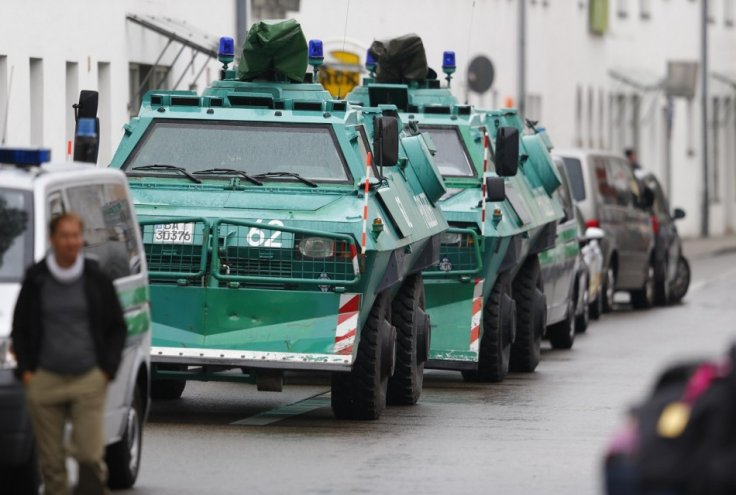 Bavaria gunman hostage city hall