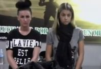 Michaella McCollum (L) and Melissa Reid deny knowingly carrying drugs (National Police of Peru)