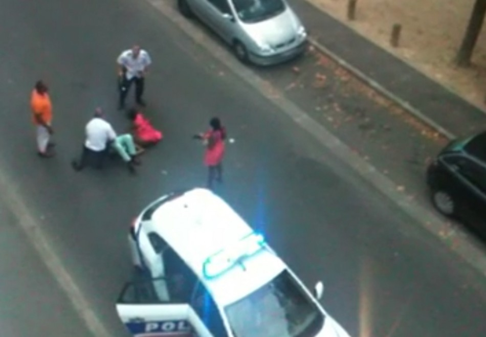French police brutality