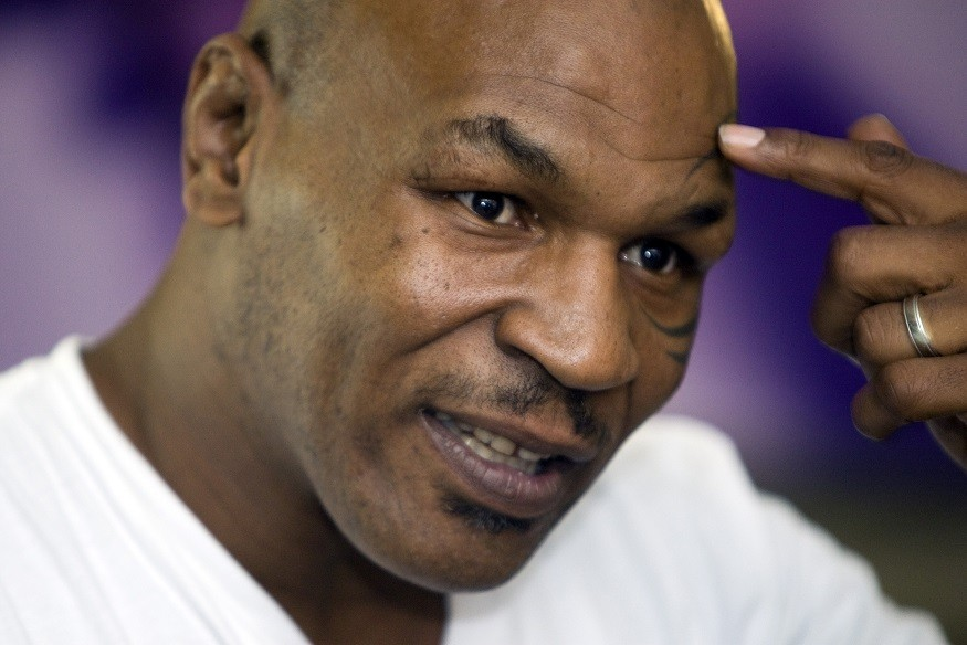 Mike Tyson in Sina Weibo confusion PIC: Reuters