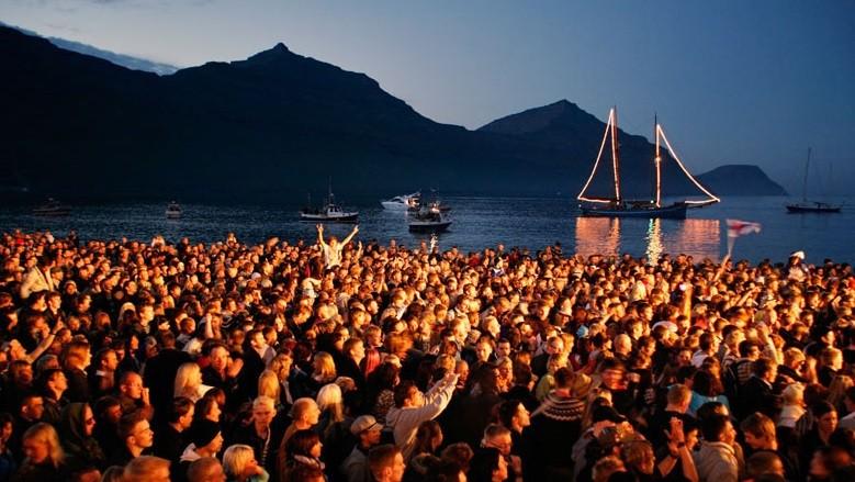 The Annual G music festival in the Faroe Islands (Photo: http://www.faroeislands.fo/)
