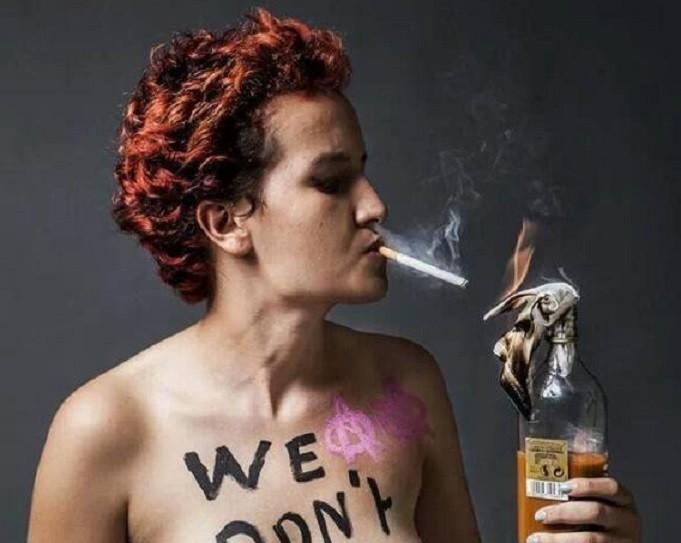 Amina Tyler Sboui Femen
