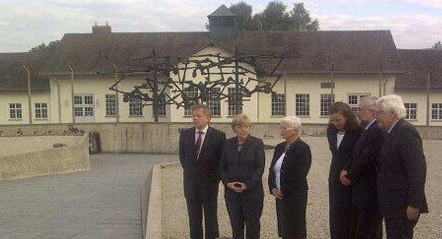 Merkel Dachau
