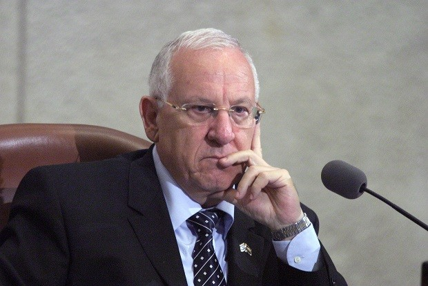 Reuven Rivlin as speaker of the Knesset PIC: Google