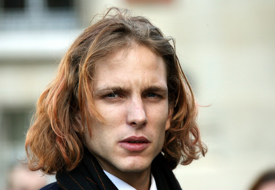 Andrea Casiraghi is second in line of succession to Monaco's throne after his mother Caroline, Princess of Hanover and Heriditary Princess of Monaco.  (REUTERS)