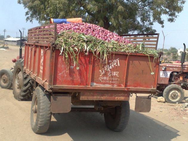 Onion truck