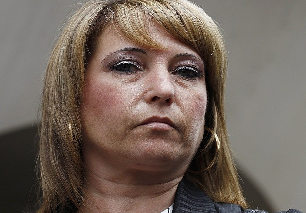 Denise Fergus, who was targeted by a Twitter troll over the death of her son, James Bulger