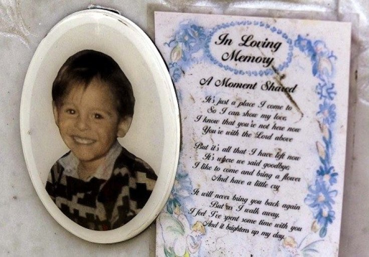 Grave of James Bulger, who was killed by Robert Thompson and Jon Venables