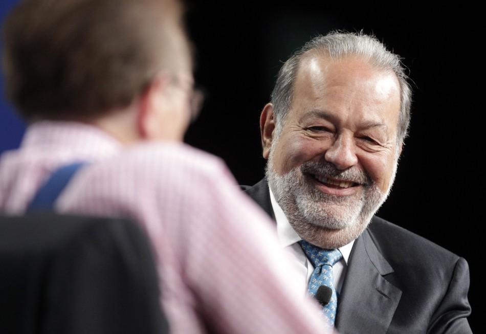 Carlos Slim's America Movil has secured financing to buy  KPN