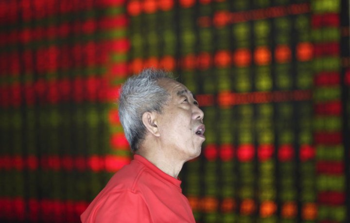 Asian markets fall on 22 August