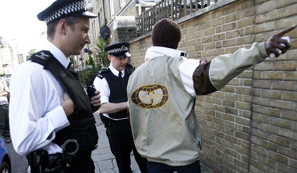 The report shows black people and searched 6.3 times more than white people in the England and Wales (Reuters)
