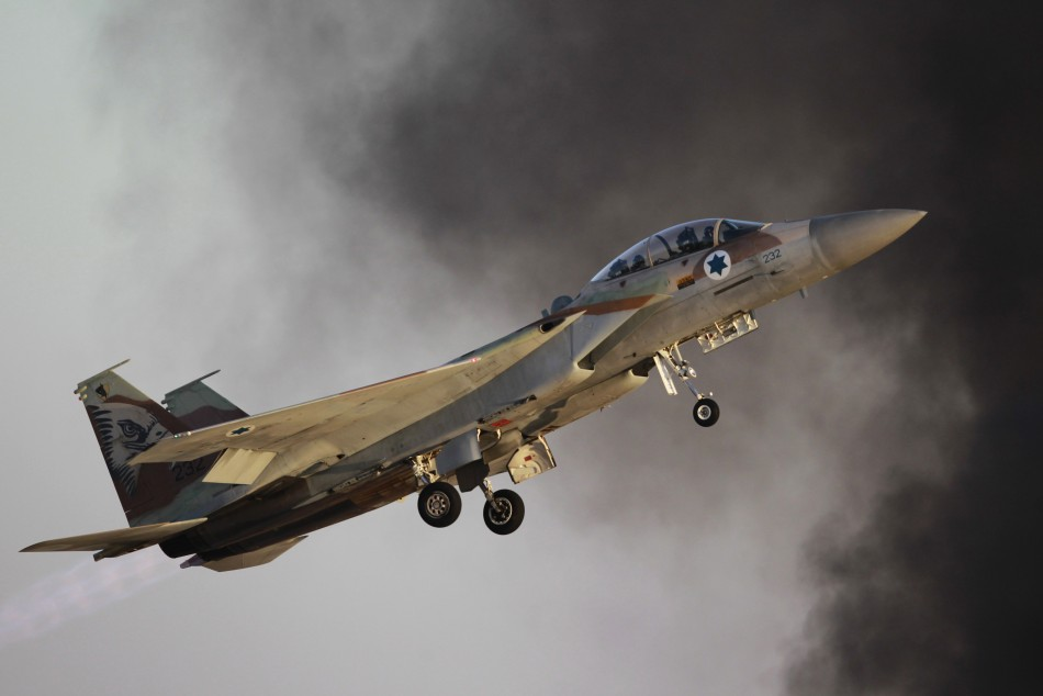 Israel bombs Lebanon