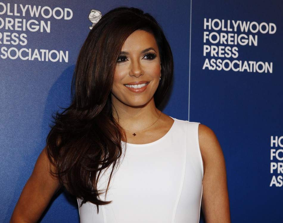 Actress Eva Longoria arrives at the Hollywood Foreign Press Association's annual luncheon in Beverly Hills, California August 13, 2013. The former Desperate Housewives star has reportedly ended her four-month relationship with Ernesto Arguello. (Photo: RE