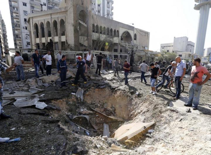 Lebanon bomb mosque