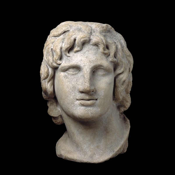 Marble portrait of Alexander (reigned 336-323 BC) at The British Museum. Greek archaeologists claim to have found the long-sought tomb of Alexander the Great in Amphipolis. (Photo: The British Museum)