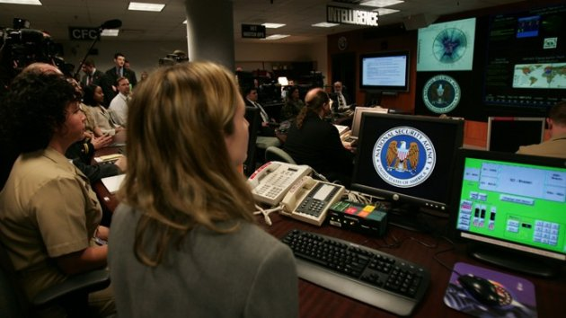National Security Agency agents at the Threat Operations Centre