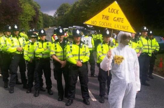 Balcombe protests