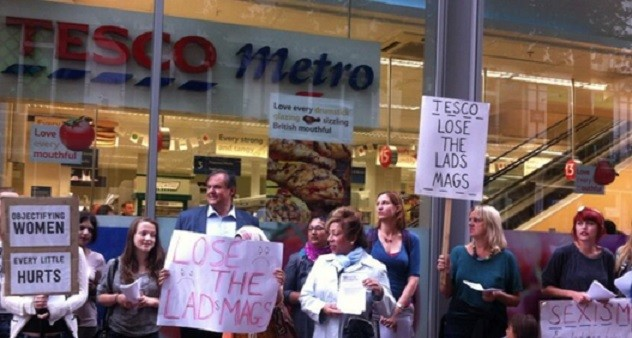 Tesco protests
