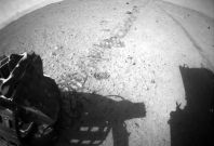 Image Sent By Curiosity Rover