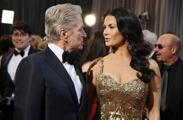 Liberace star Michael Douglas and Catherine Zeta Jones are said to be heading for a $300m divorce