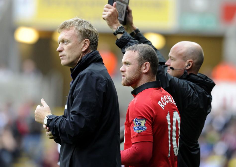 Moyes - Rooney