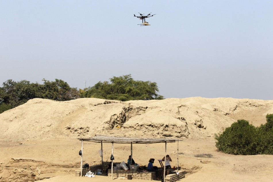 About 2,500 archaeological sites in Peru have been mapped using drones so far. (Reuters)