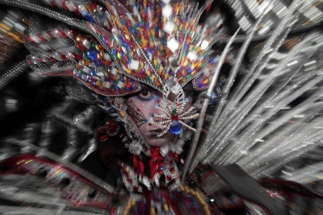This unusual fashion carnival was initiated by Dynand Fariz in 2001 to put Jember on the tourist map. (Reuters)